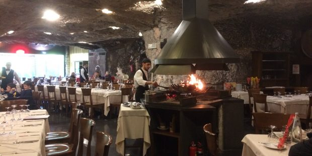 LA TROTA restaurant…What a restaurant in a cave??