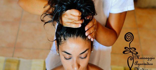Ayurvedic massage done at the villa.